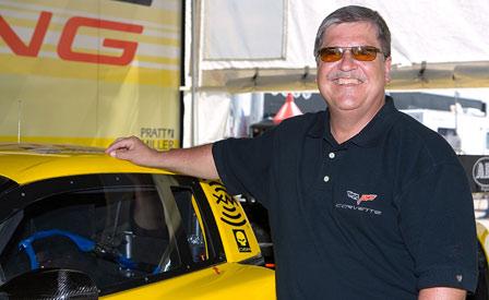 Corvette's Tom Wallace