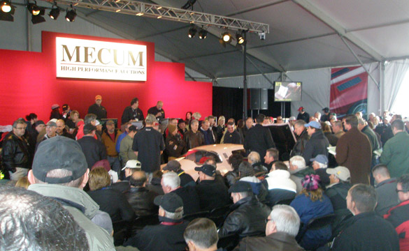 Corvette Auction Results: Bob McDorman's Corvette Sales Total $5 Million