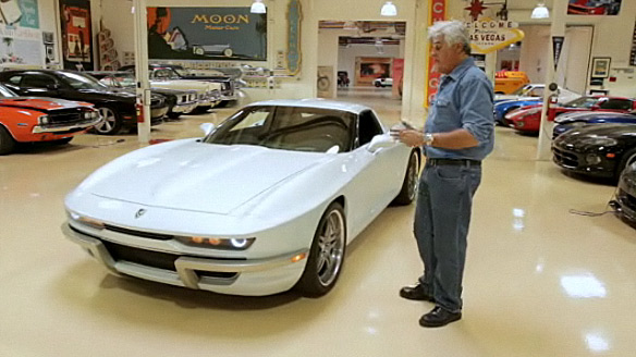 [VIDEO] The Rossi SixtySix Corvette Visits Jay Leno's Garage