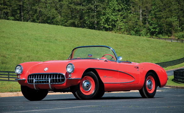 Rare 1957 Airbox Corvette Sold at RM's Milton Robson Sale