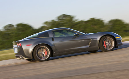 2009 Corvette Z06 in Cyber Gray