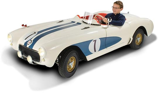 Holiday Corvette Ideas: The 2/3 Scale 35 MPH C1 Classic Corvette