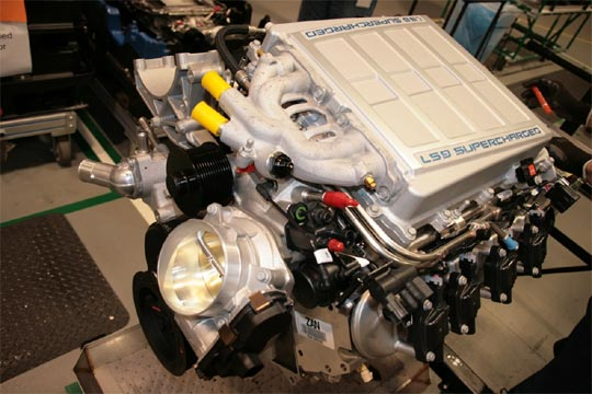 Building the Corvette ZR1's LS9 V8 Engine