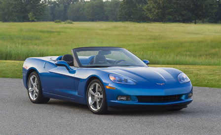 The 2009 Corvette Makes Car and Driver's 10Best List