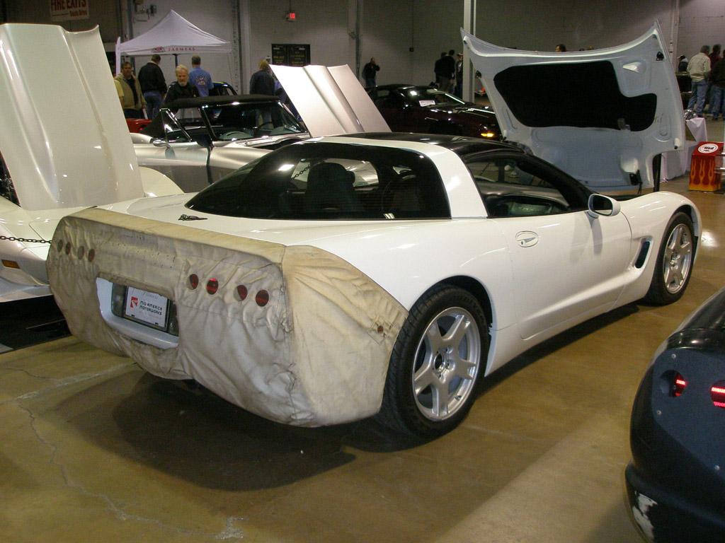 MCACN 2011: Mid America's Prototype C5 Corvettes