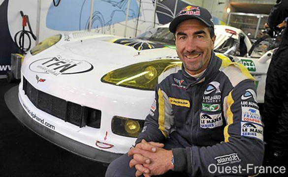 Luc Alphand to Retire Corvette Racing Program