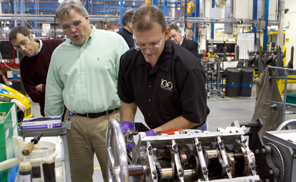GM Builds its 100-Millionth Small Block Engine