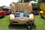 1998 Aztec Gold Corvette Coupe