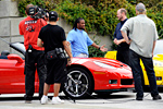 Jimmie Johnson, Johnny O'Connell and NFL Pro Bowler DeAngelo Williams on SPEED's Test Drive: Corvette