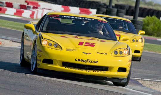 Spend New Year's Eve Racing Corvettes at Bondurant