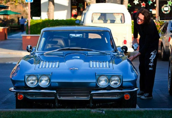 Rick Springfield's 1963 Corvette Sting Ray - Corvette: Sales