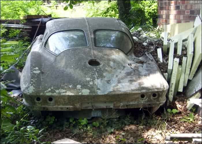 Wasting Away: 1963 Corvette Split Window Coupe