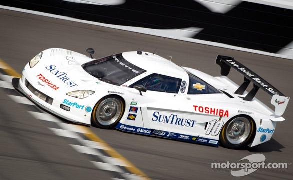 Corvette Daytona Prototypes Test at Daytona