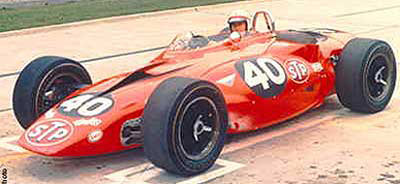 Andy Granatelli Turbine-Powered C3 Corvette