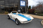 1963 Corvette Grand Sport #002 at the Simeone Foundation Automotive Museum