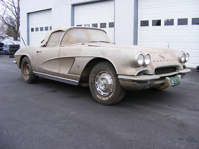 Rogers Auto Sales >> Barn Fresh and Restoration Ready: 1962 Corvette Roadster ...