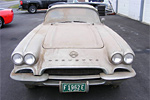 1962 Corvette Roadster Barn Find