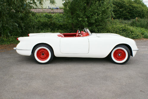Corvettes on EBay: 1954 EX87 Test Mule Replica