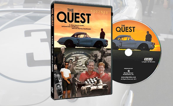 Give Dad The Quest Corvette Documentary DVD for Father's