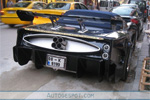 Battlestar Galactica C5 Corvette is One Hot Mess