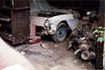The 1957 Corvette was a true barn find