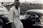 Original Owner Bill Howe at the Cumberland, MD SCCA race on 5/19/57.