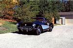 The 1957 Corvette restored to its original glory.