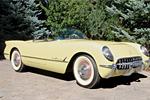 1955 Harvest Gold Corvette Roadster