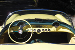 1955 Harvest Gold Corvette Roadster