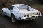 Forgotten 1969 Corvette Pulled from the Weeds