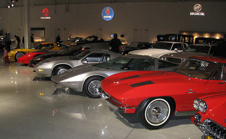 Corvettes at GM's Heritage Center Museum