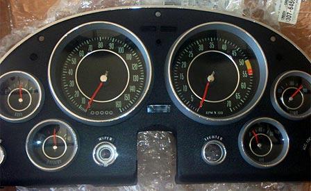 1964 Corvette Dash Cluster