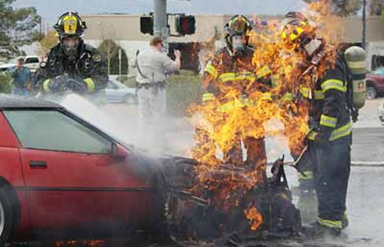 This 1985 Corvette is on Fire! Literally!