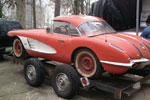 1958 Corvette Barn Car is Christmas Day Gift for Restorer