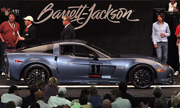 GM to Offer Another Mystery Corvette at Barrett-Jackson?