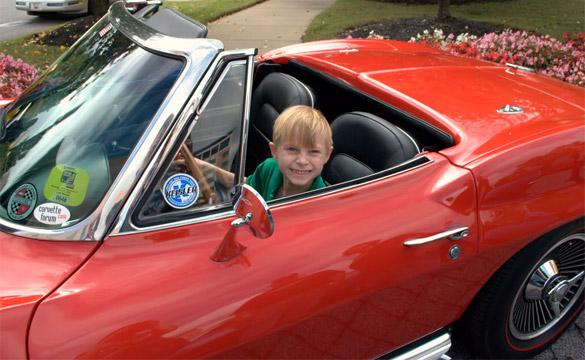 In Honor of Evan Thomason: 10th Annual Corvette Forum Fundraiser for St. Jude