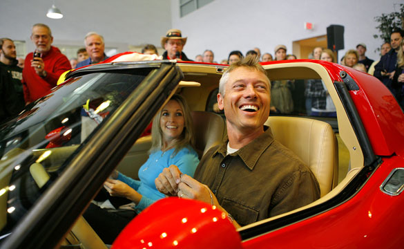 Soldier Returns From Overseas, Surprised by Restored Corvette
