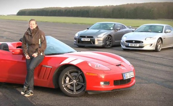 [VIDEO] Autocar Compares Corvette Grand Sport against Nissan GT-R, Jaguar XKR