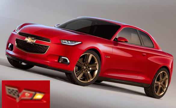 [PIC] New Chevy Code 130R Concepts Badged With C6 Corvette Logo