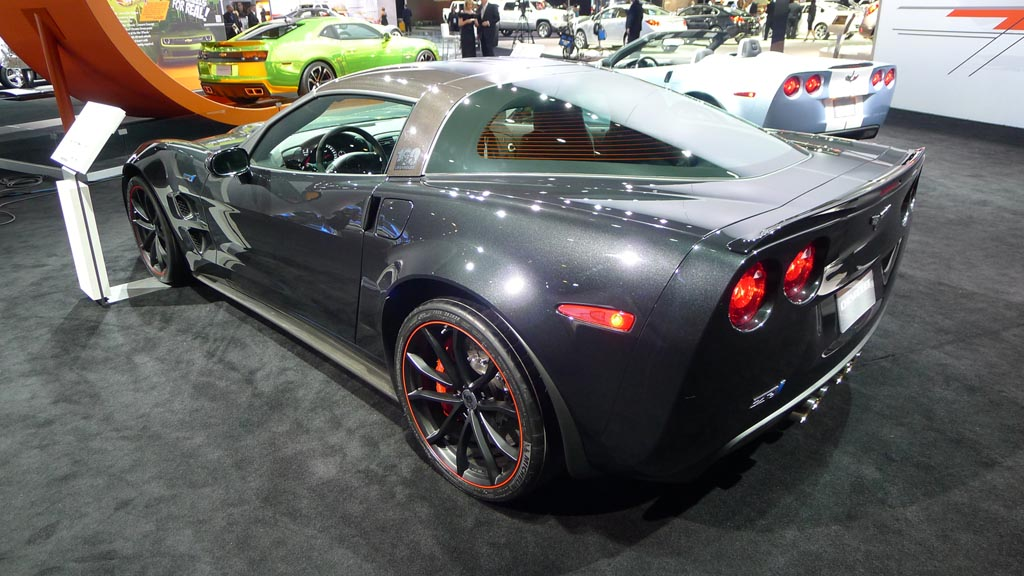 Corvettes at the North American International Auto Show