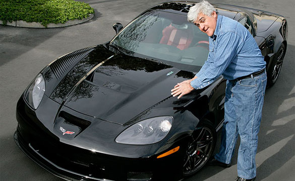 Website Catalogs List of Celebrity Corvette Owners