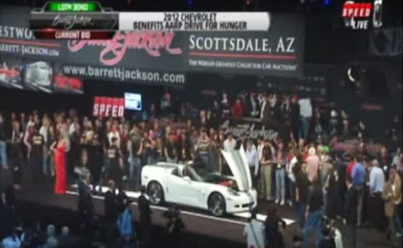 [VIDEO] 2013 Corvette 427 Convertible Sells for $700,000 at Barrett-Jackson