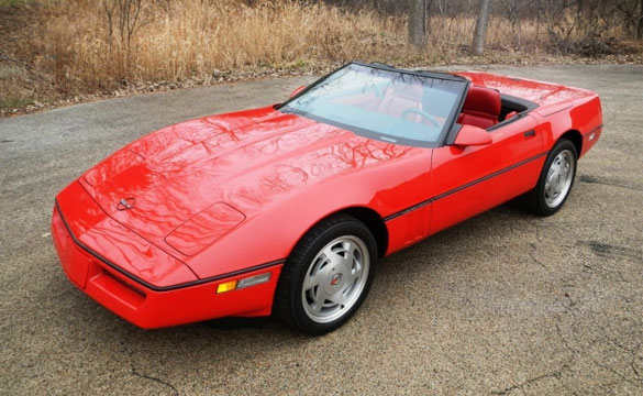 Zora's 1989 Corvette sells at the 2012 Russo and Steele auction