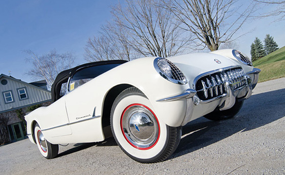 1953 Corvette VIN #005 Sells for $445,500 at RM's Scottsdale Auction