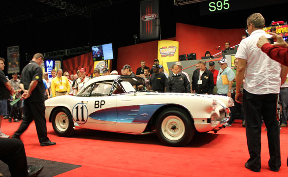 Gulf Oil Corvette Racer at Mecum