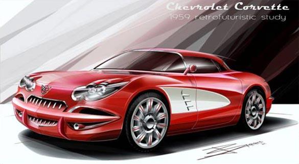 Retired GM Designer Creates Future Concept Based on Retro Classics