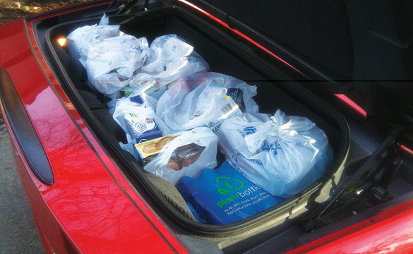 Just How Much Cargo Can A C6 Convertible Corvette Carry