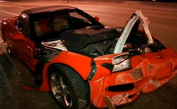 [ACCIDENTS] C5 Corvette Run over by 18-Wheeler in South Florida Hit-and-Run
