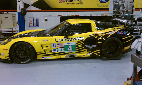 Jake Marks the Spot on Corvette Racing's New Livery