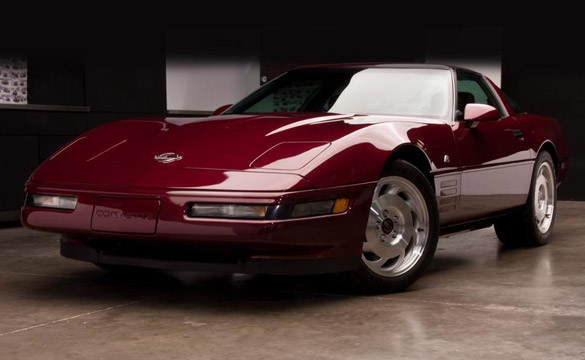 1993 40th Anniversary Coupe Raises $125K for Charity at Barrett-Jackson